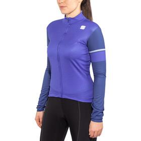 Sportful Cometa Thermal LS Jersey Women blue cosmic/twilight blue/ashl